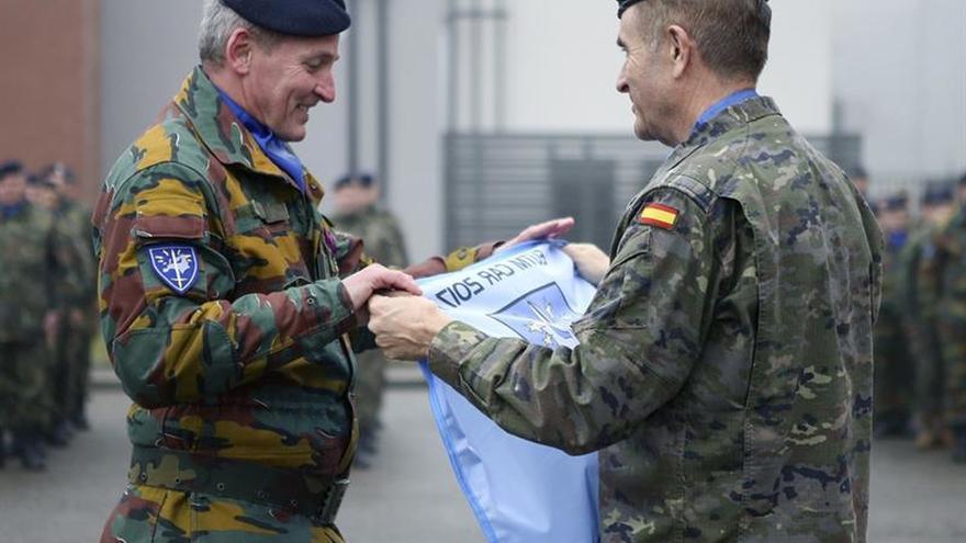 El Eurocuerpo despide al contingente que formará en 2017 al Ejército de RCA