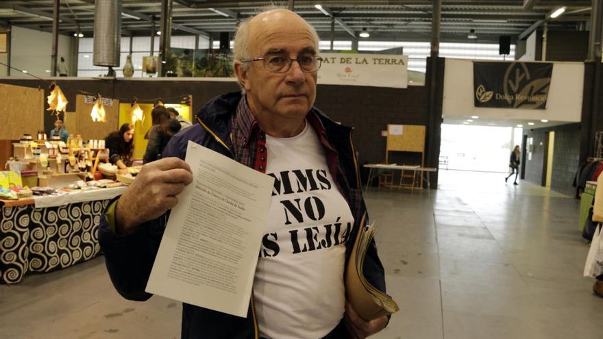 Josep Pàmies, en la Feria de la Alimentación y la Salud de Balaguer en 2018