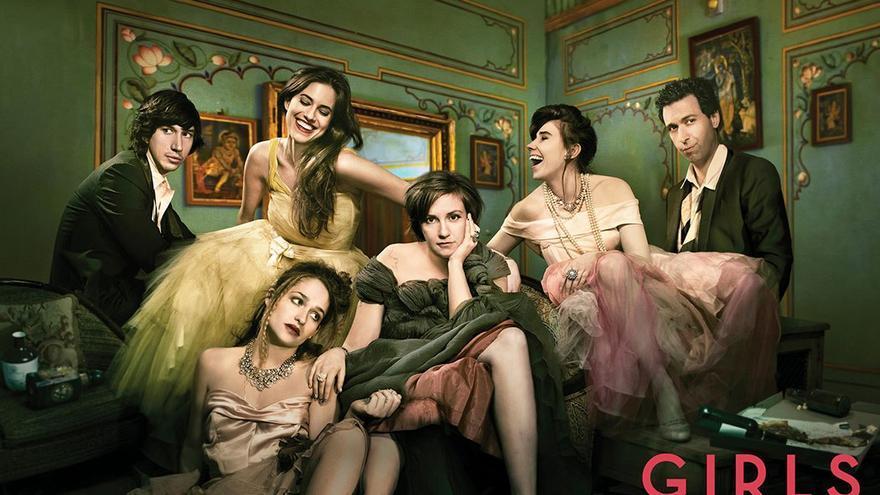 Imagen promocional de la serie 'Girls'