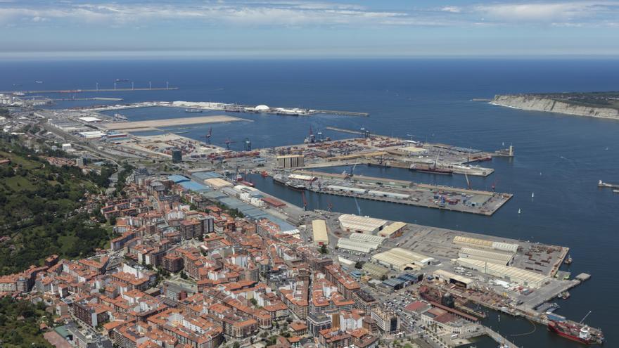 Archivo - Vista del Puerto de Bilbao