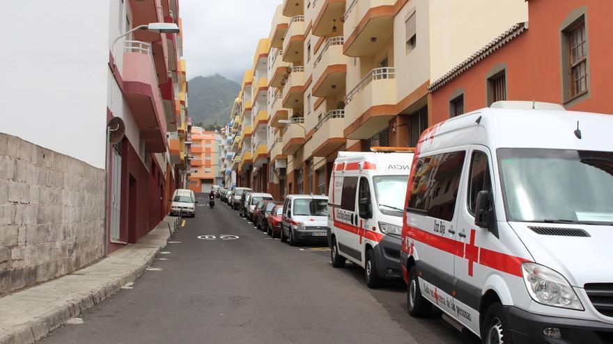 Calle Cruz Roja de Santa Cruz de La Palma.