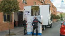 Ola de solidaridad desde Tomelloso, una de las localidades más afectadas por la pandemia