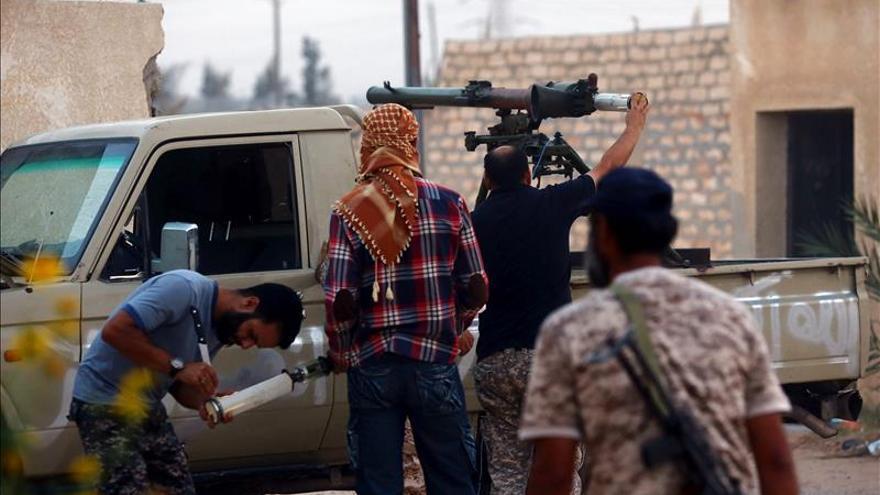 Cinco muertos en fuertes combates entre milicias rivales en la ciudad libia de Kikla