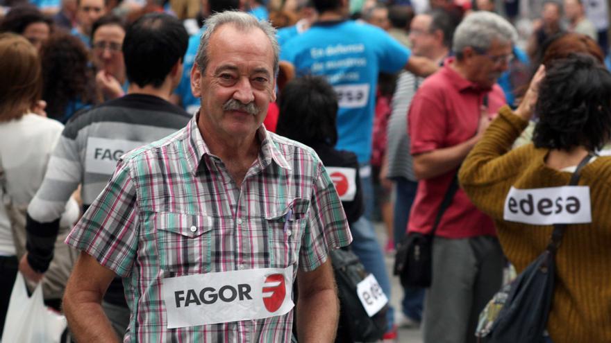 Mikel Olabe, portavoz de la corriente crítica del Grupo Mondragón. /EDN.