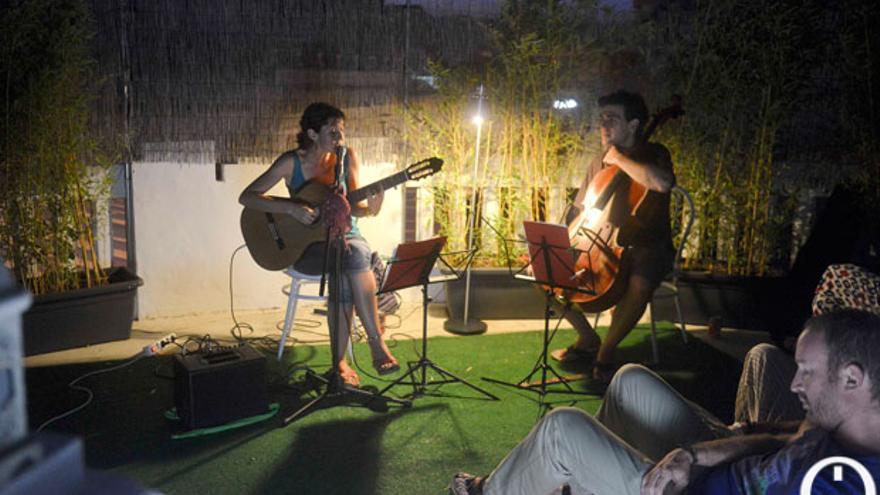Sara Banda, en el Redetejas celebrado en Córdoba en julio. | TONI BLANCO