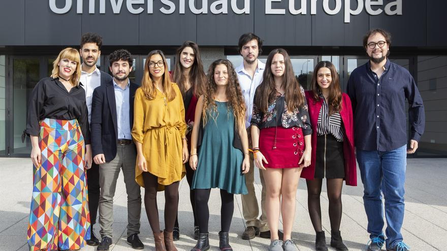 Acción promocional de la Universidad Europea, en una imagen de archivo