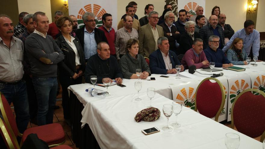 Dirigentes regionales y provinciales de UPA reunidos en Mérida