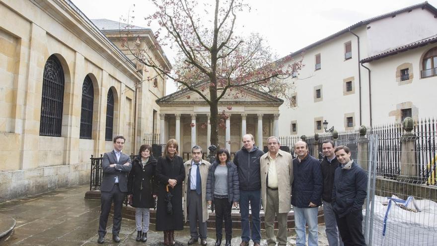 Gernika acogerá el lunes un pleno ordinario de Juntas, tras el que se plantará el nuevo Árbol de Gernika