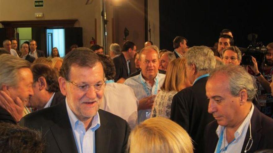 Rajoy en la Interparlamentaria del PP, Guadalajara, 4/10/14 / Foto: Europa Press