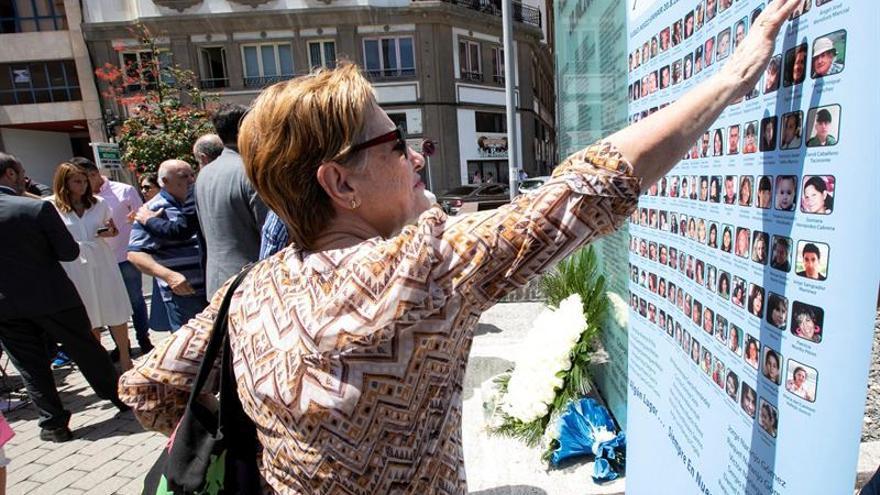 Homenaje en Gran Canaria en el décimo aniversario de la tragedia de Spanair