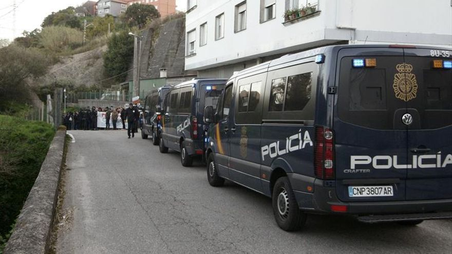 Detenido un trabajador de Nueva Pescanova durante la manifestación en Vigo