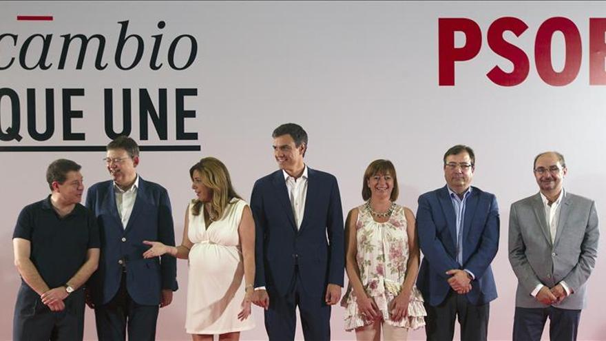 """Díaz dice sobre Pedro Sánchez que """"el PSOE tiene un gran candidato, vamos a ganar"""""""