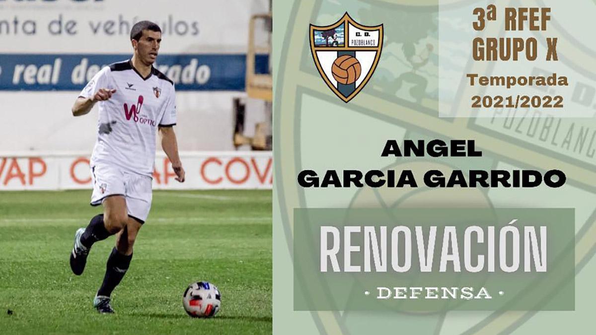 Ángel García renueva con el Pozoblanco.