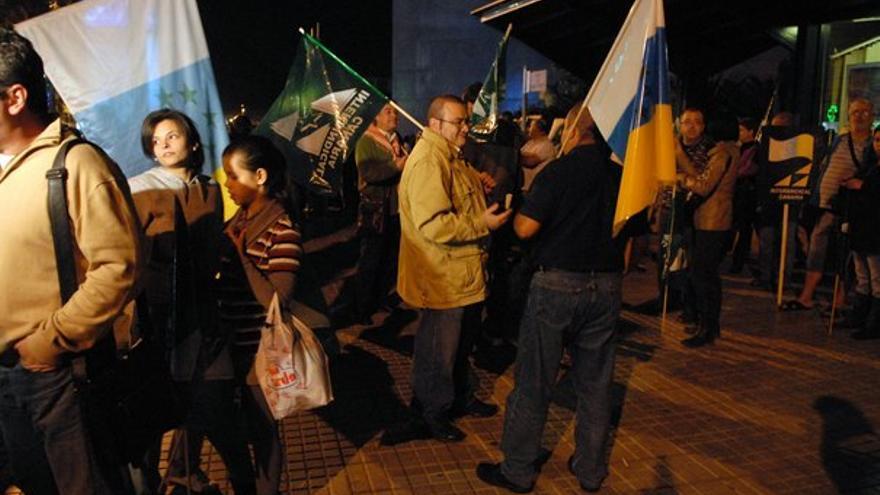 De la manifestación en LPGC #2