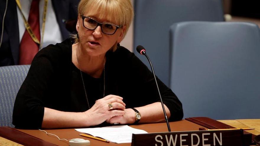 La Fiscalía sueca cierra una investigación por cohecho contra la ministra de Exteriores