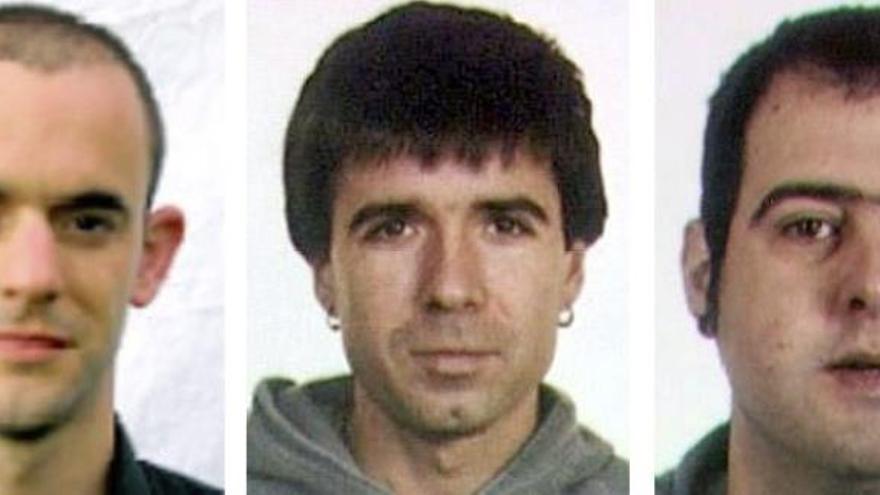 Francia condena a 8 años a los etarras Etxaburu y Machaín, a 6 a Sarasola