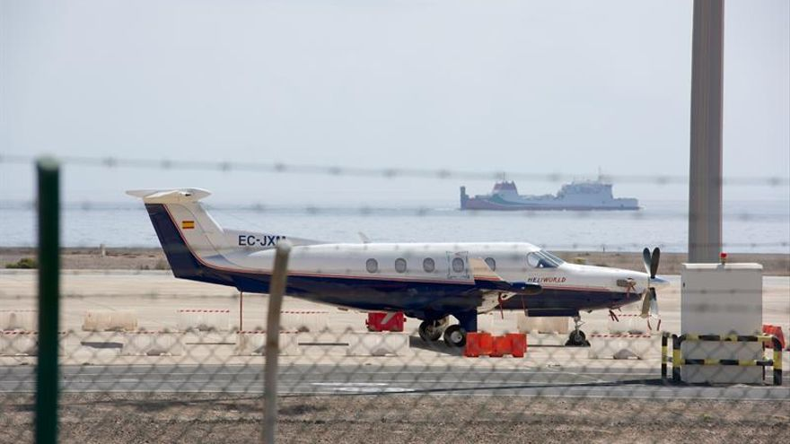 La tripulación de la avioneta con 388 kilos de cocaína la abandonó el martes en Fuerteventura