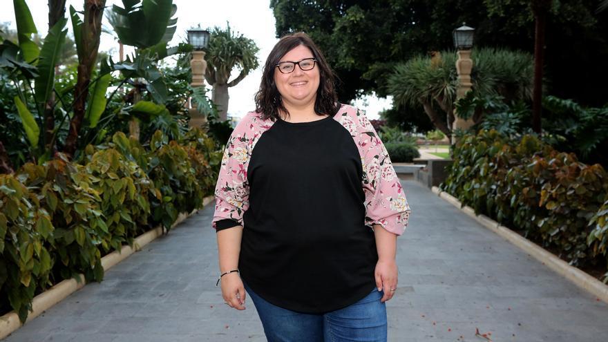 Marina Marroquí, educadora social y superviviente de violencia machista.
