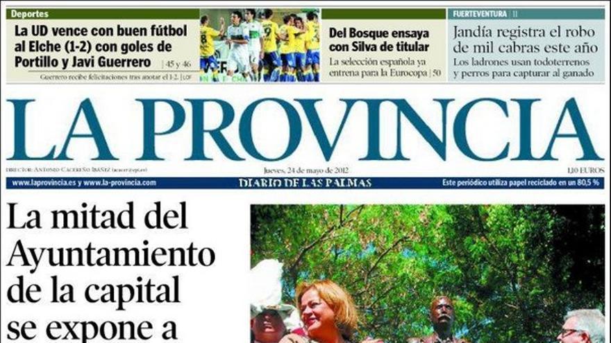 De las portadas del día (24/05/2012) #1