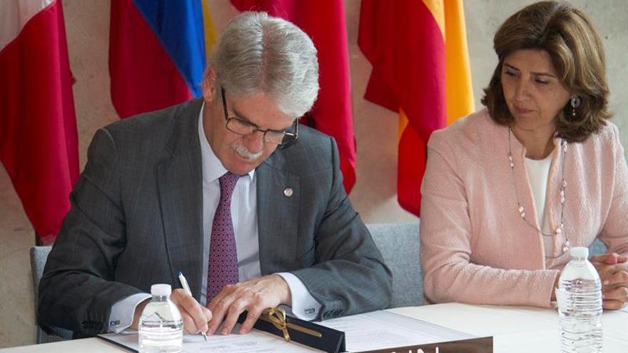 """Colombia ve como un """"hito importante"""" el acuerdo de la Alianza del Pacífico con España"""
