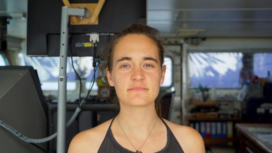 Carola Rackete, la joven que desafió la férrea política migratoria de Salvini