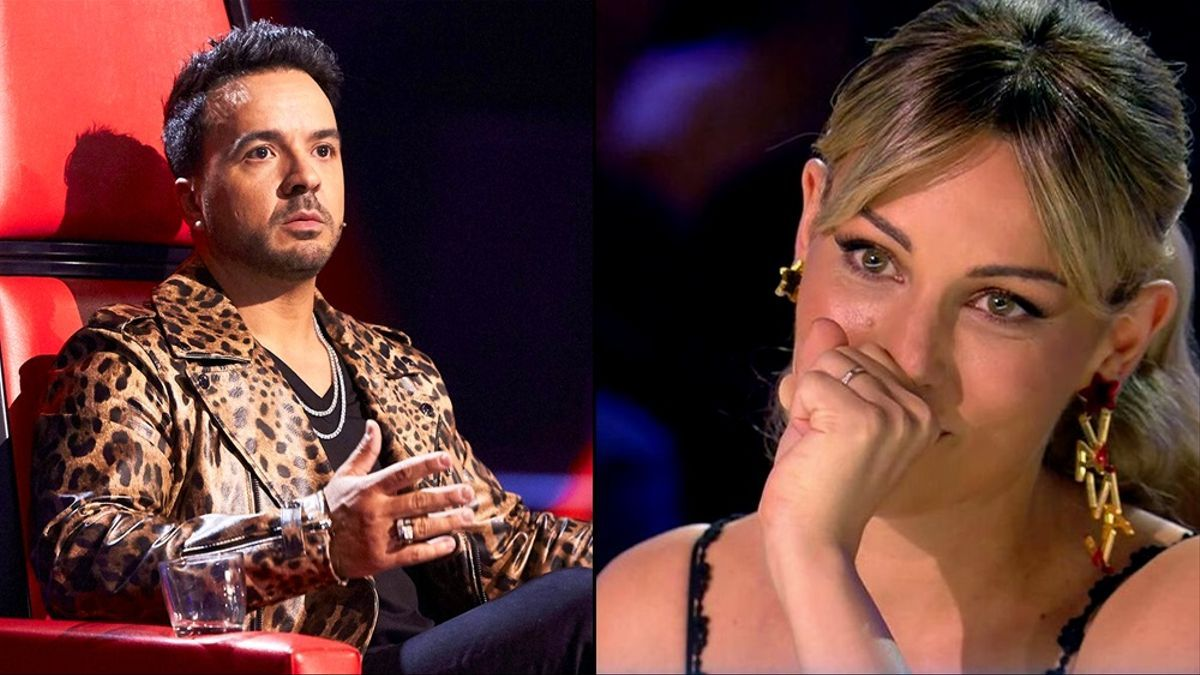 Luis Fonsi en 'La Voz' / Edurne en 'Got Talent'