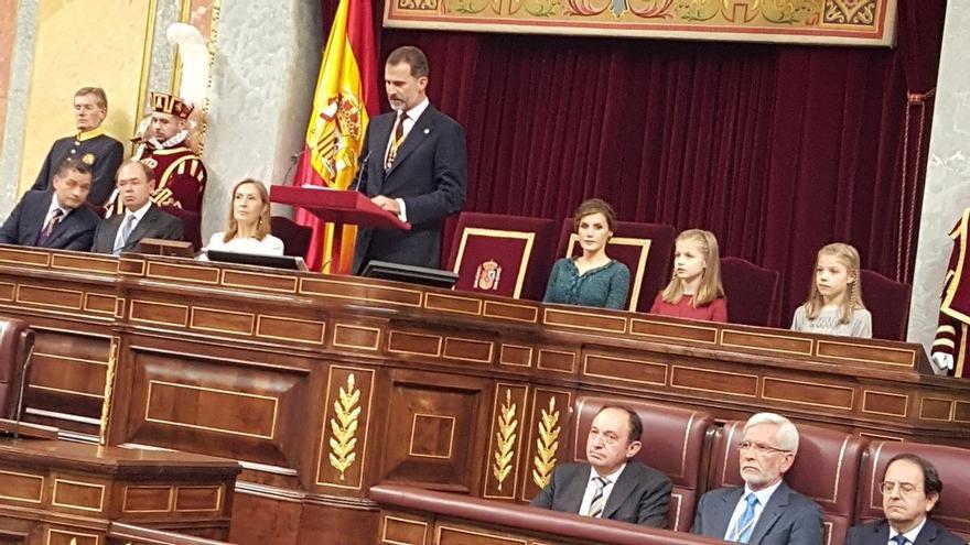 El Rey abrirá la legislatura el día 3 en el Congreso, con Podemos en el Gobierno y ausencia de independentistas