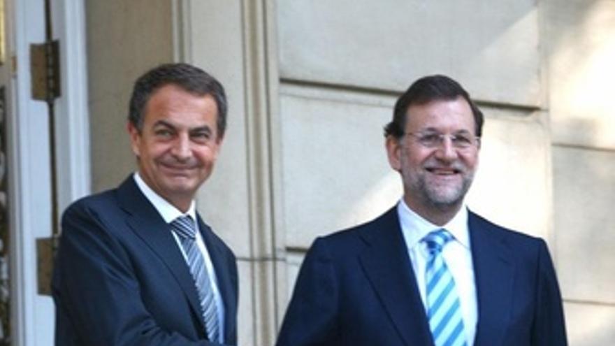 Presidente del Gobierno y el líder de la oposición