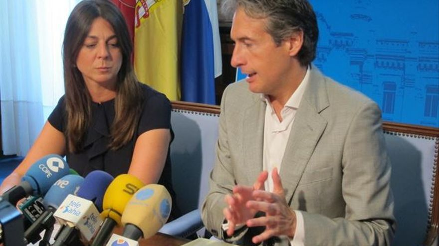 Noelia Espinosa e Íñigo de la Serna en una imagen de archivo.   E.P.