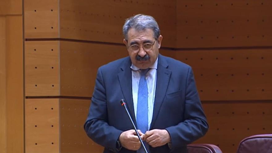 Jesús Fernández Sanz en la Comisión General de Comunidades Autónomas del Senado
