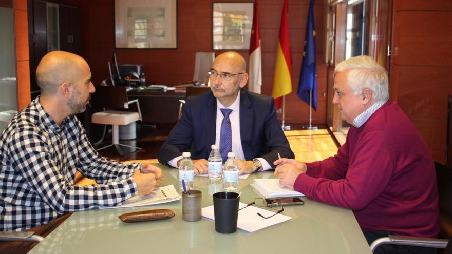 Reunión entre la Junta y la cooperativa de comercio justo IDEAS