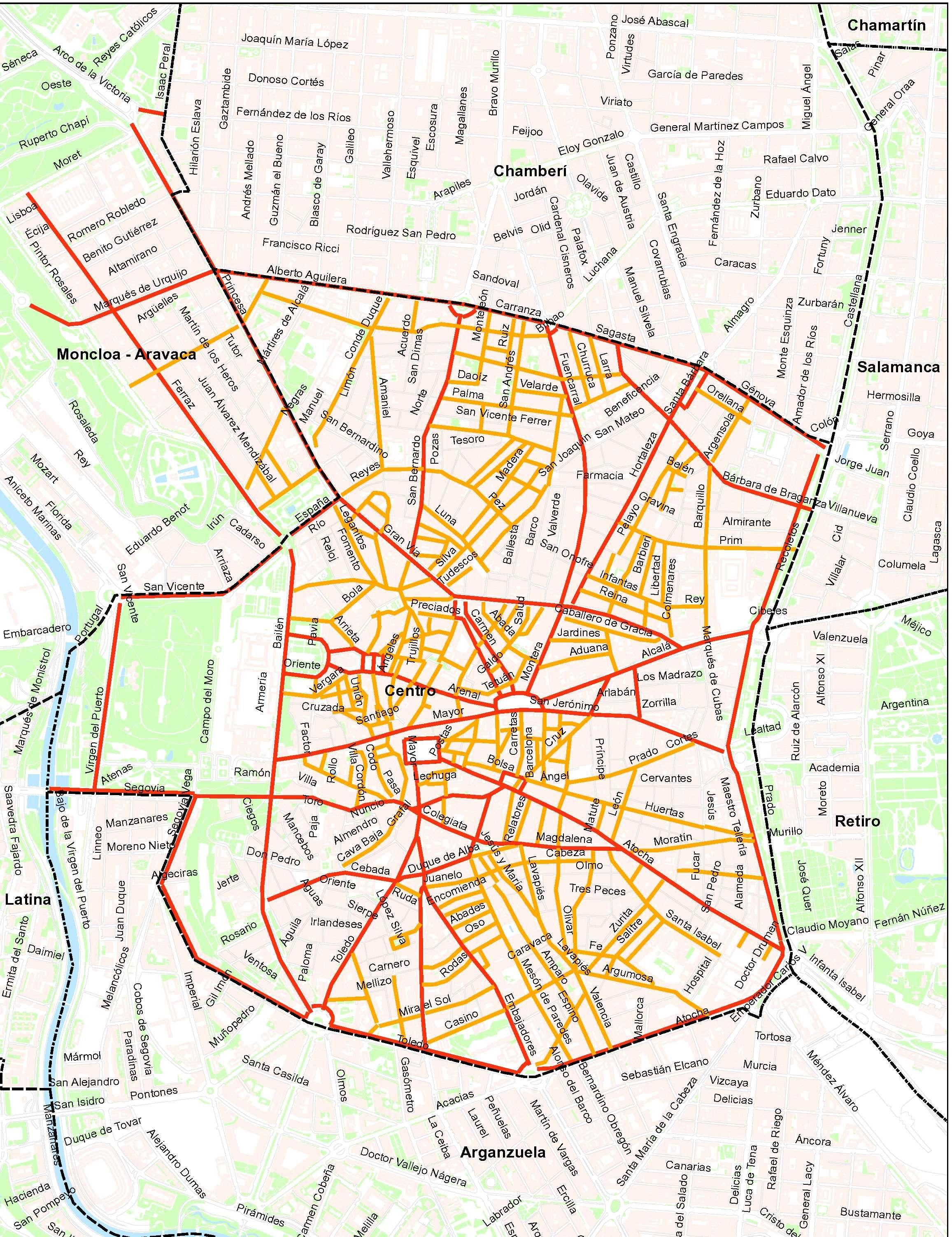 Barrio Chamartin Madrid. Beautiful Mapa De La Tienda With Barrio ...