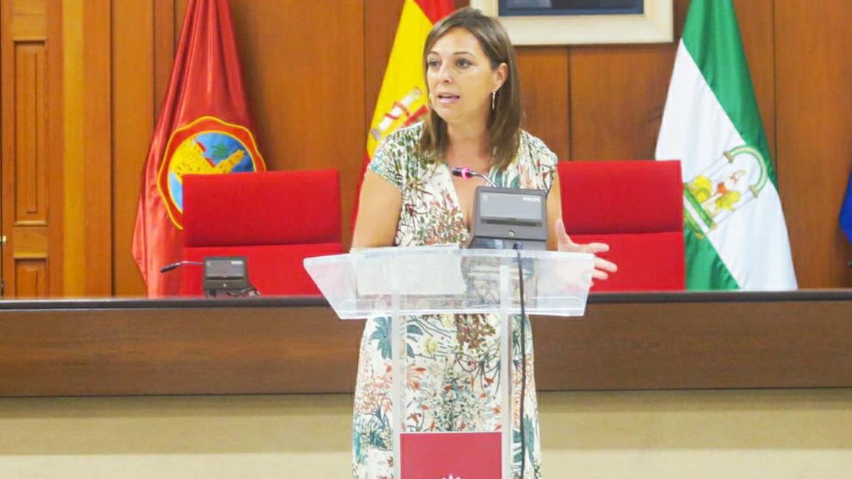 La portavoz municipal Isabel Ambrosio.