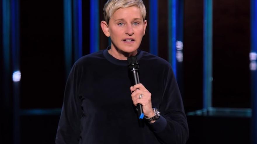 Ellen DeGeneres en su 'stand-up' Relatable