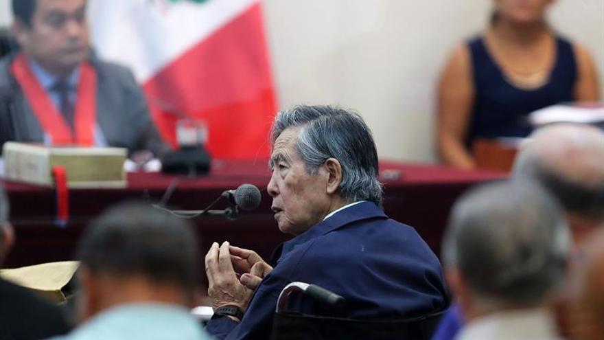 Fujimori declara en el juicio contra Vladimiro Montesinos por un secuestro en 1992
