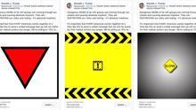"""Facebook impide que Trump use el triángulo rojo nazi para señalar a los antifascistas como """"grupo terrorista"""""""