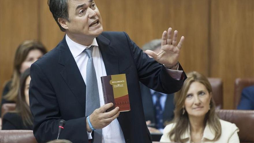 El PP recurre el reparto de la Mesa del Parlamento andaluz por vulnerar la decisión de las urnas