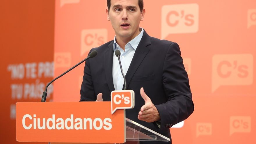 """Rivera afirma que las partidas del pacto con el PP para políticas sociales se pueden cumplir: """"No somos Podemos"""""""