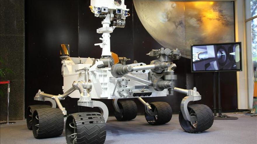 El Curiosity confirma que un viaje a Marte supera los límites de radiación