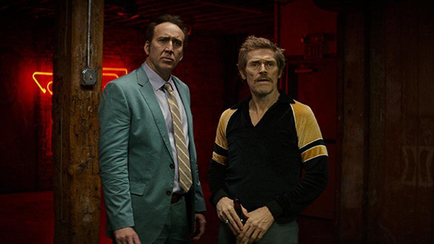 Nicholas Cage y Willem Dafoe