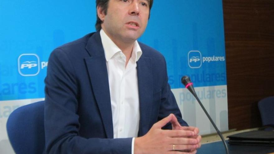 El portavoz adjunto del PP-CLM, Lorenzo Robisco / Foto: EUROPA PRESS
