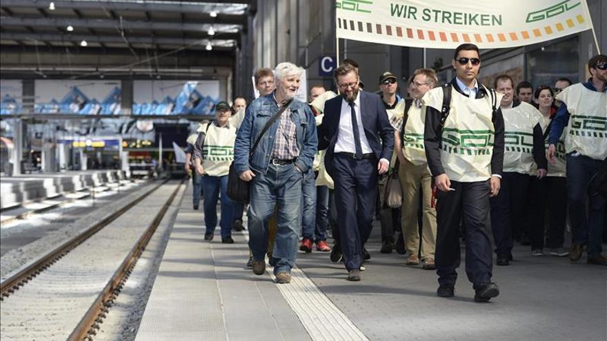 """Los maquinistas alemanes seguirán """"en pie de huelga"""" tras seis días de paros"""