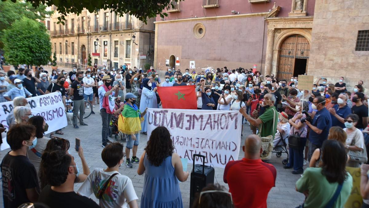 Manifestación en Murcia contra el racismo