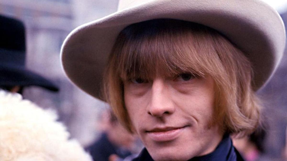 """Brian Jones, el hombre al que se le ocurrió el nombre """"The Rolling Stones""""."""