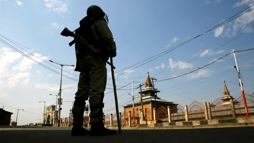 Estrictas medidas de seguridad e incidentes aislados en la Cachemira india