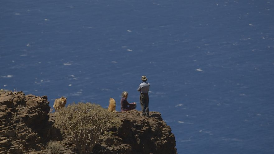 Fotograma de la trilogía documental del Cabildo de Gran Canaria sobre el papel de la población rural de la Isla en la conservación del medio ambiente
