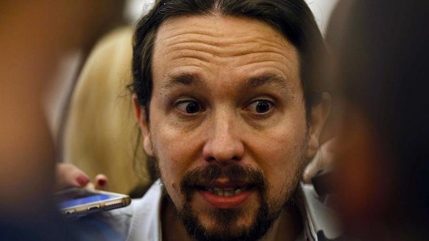 Podemos registra mañana la censura a Rajoy con Pablo Iglesias de candidato