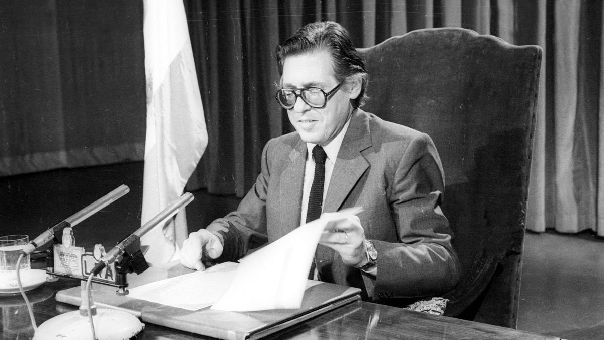 Juan Vital Sourrouille, exministro de Alfonsín y creador del Plan Austral