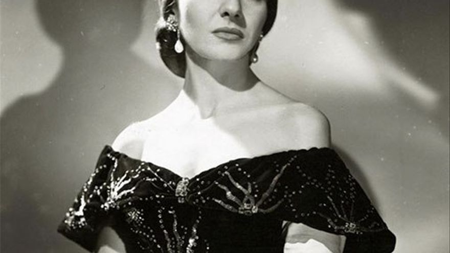María Callas, considerada la cantante de ópera más importante del siglo XX. (Wiki).