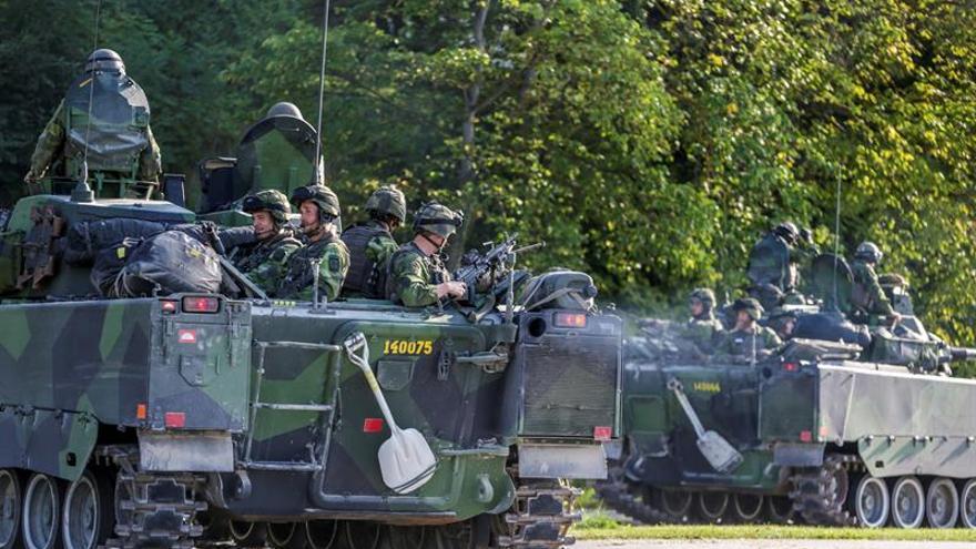 Suecia envía un regimiento permanente a la isla báltica de Gotland por primera vez desde 2005